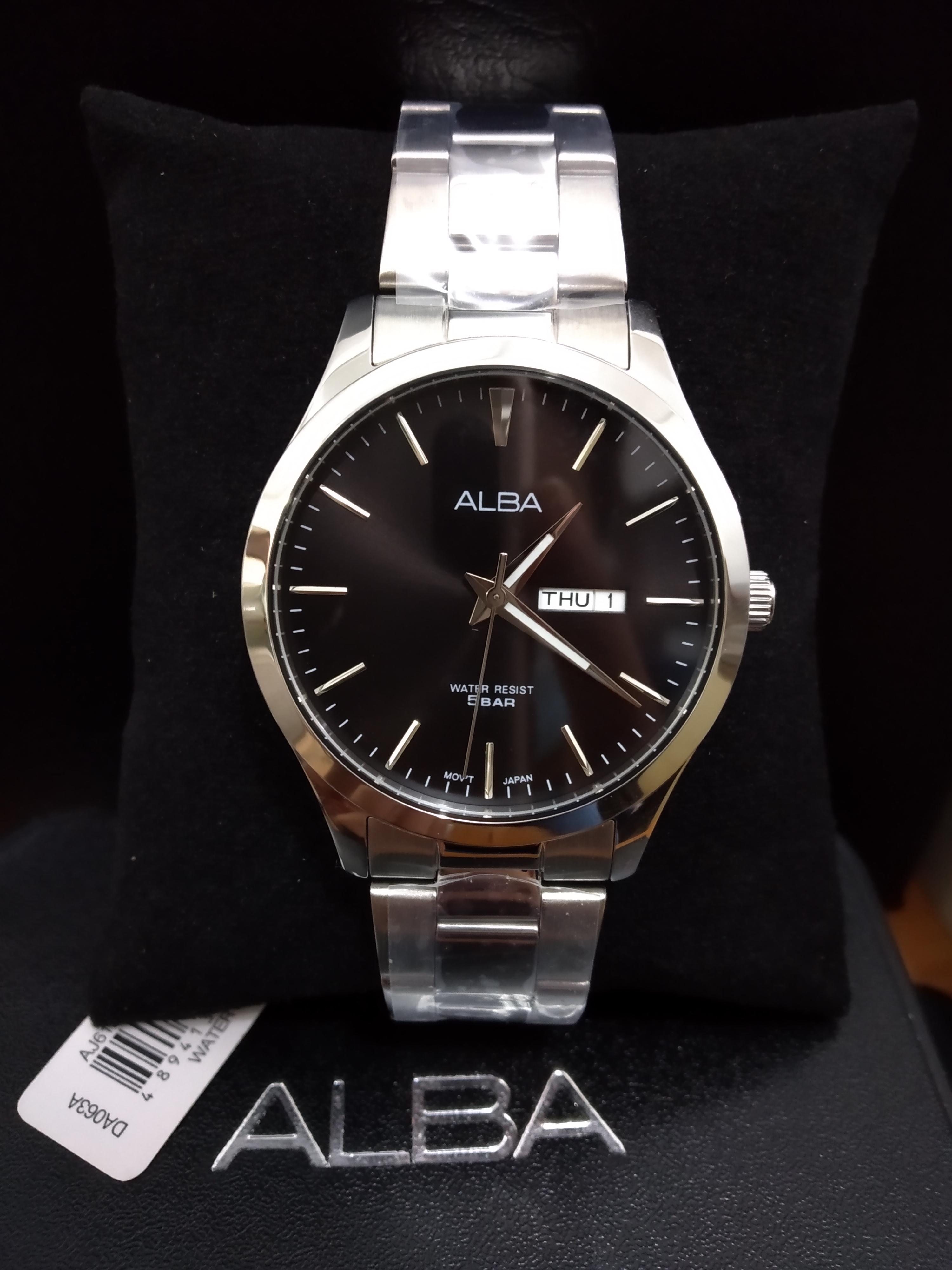 Alba AJ6127X1 Silver Black