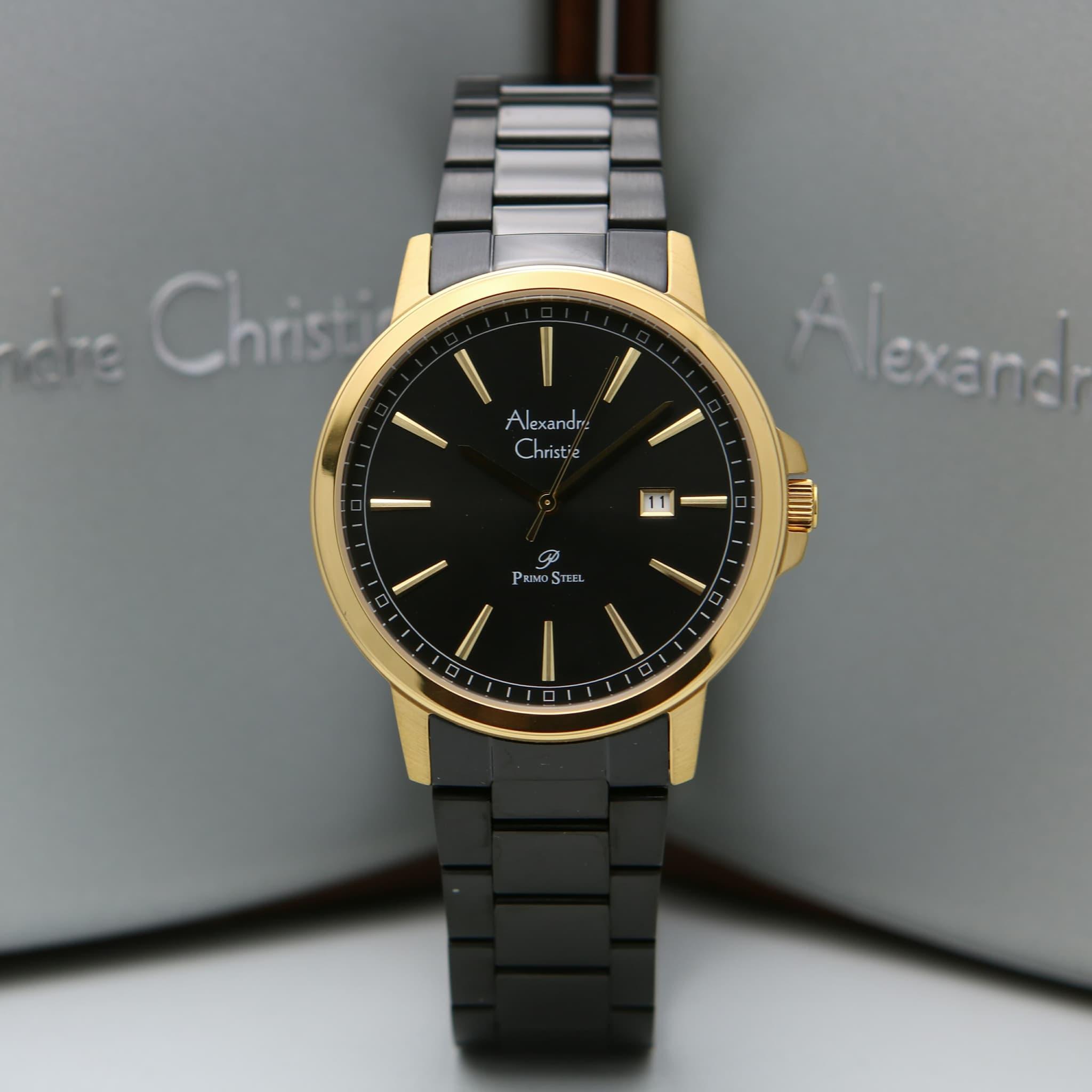 Alexandre Christie 1014MD Black Rosegold Man