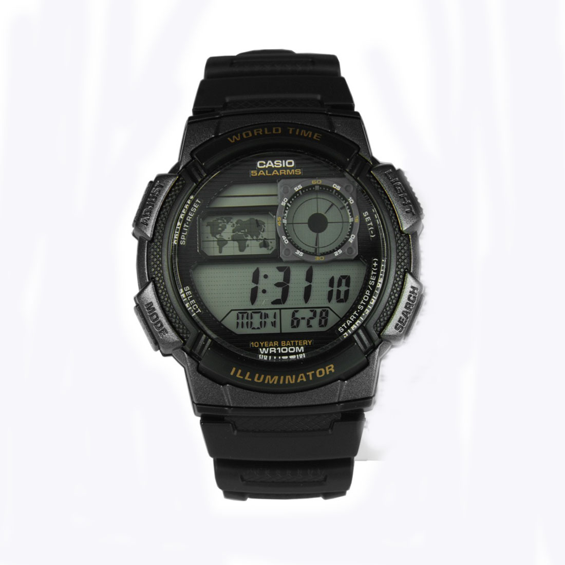 Casio Digital Ae 1000w 1avdf Jam Tangan Pria Hitam Resin6 Daftar Expedition 6339 Mclipbasl Original