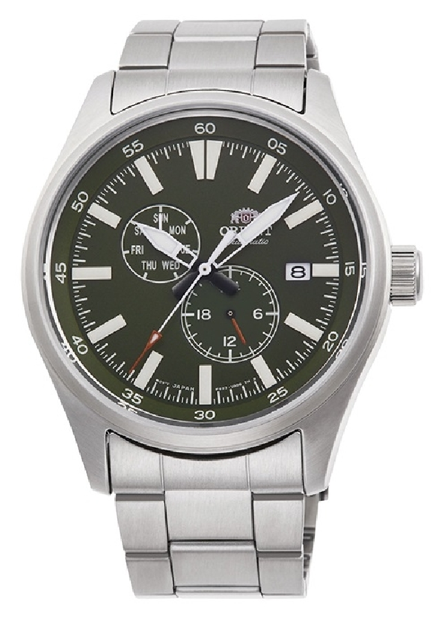 Orient Defender ll RA-AK0402E10B Green Dial